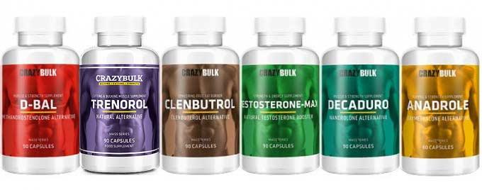Pourquoi prendre des alternatives légales aux stéroides, comme les produits Crazy Bulk?